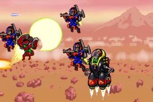 لعبة حرب الصحراء والقرد