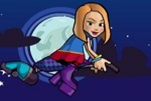 لعبة مغامرة فتاة الهالوين