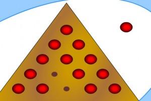 لعبة لغز كرات المثلث