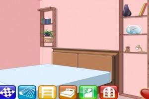 لعبة ديكور غرفة نوم انيقه