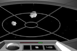 لعبة تدمير النيازك الفضائيه