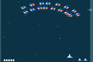 لعبة طياره الفضاء الخارجي