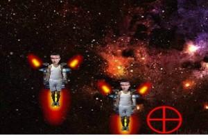 لعبة تصويب الفضاء