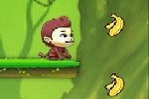 لعبة مغامرات جمع الموز