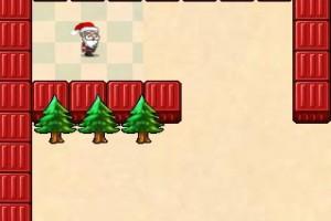 لعبة جمع هدايا بابا نويل