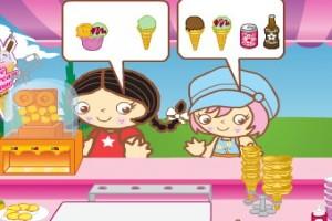 لعبة محل بيع المثلجات