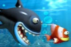 لعبة مغامرة السمكه الكبيره