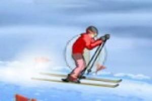 لعبة مغامرة التزلج انيمي