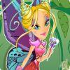 العاب تلبيس البنت الفراشة
