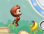 لعبة مغامرات القرد والموز
