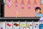 لعبة بائعة الايس كريم والمثلجات