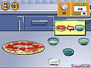 لعبة صنع البيتزا الايطالية
