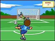 العاب تسجيل الاهداف كرة القدم