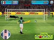 العاب تسديد الكرة في المرمى