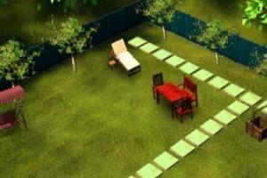لعبة ديكور حديقه منزلي