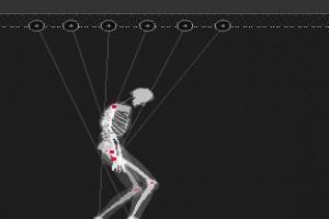 لعبة رقص رجل العظام
