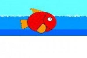 لعبة مغامرة السمكه الحمراء