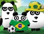 العاب دببة الباندا الثلاثة